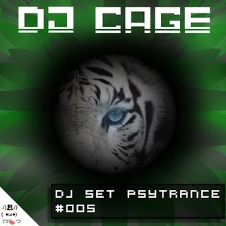 Dj Cage Set Psy Trance #005