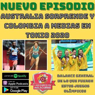JJOO Australia destacado mientras que Colombia a Medias