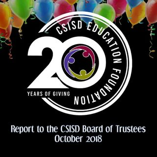 20th anniversary of the College Station ISD foundation