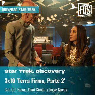 Star Trek: Discovery 3x10: 'Terrra Firma, Parte 2' (Terra Firma, Part 2)
