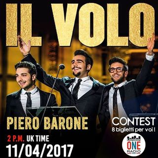 INTERVISTA  a Piero Barone -IL Volo- peril concerto di LONDRA 23 Maggio al The Royal Albert Hall!!!!!!