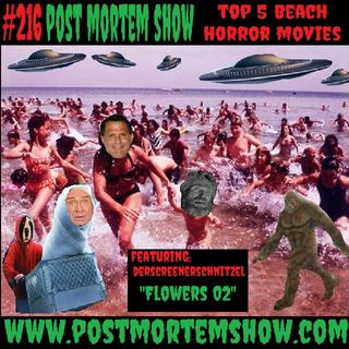 e216 - COVID Canseco Applewhite Beach Party (Top 5 Beach Horror Movies)