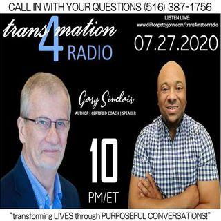 Gary Sinclair Joins Clifton Pettyjohn on TRANSFORMATION RADIO