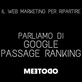 Che cos'è Google Passage Ranking