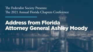 Address from Florida Attorney General Ashley Moody