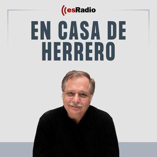 Tertulia de Herrero: La Generalidad retiró la bandera española tras la comparecencia de Sánchez