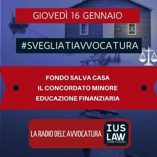 FONDO SALVA CASA – IL CONCORDATO MINORE – EDUCAZIONE FINANZIARIA #SVEGLIATIAVVOCATURA