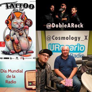 Presentamos la banda bogotana 'Cosmology', noticias de 'La doble A' y fin de semana con Tattoo Music Fest