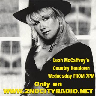 Leah MaCaffrey with Country Hoedown on 2ndcityradio.net