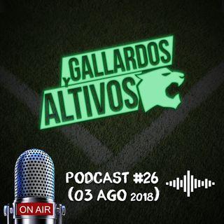 ¡Viernes de podcast! y hay que festejar el día de la cerveza #GallardosyAltivos