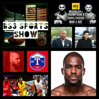 BS3 SPORTS SHOW 3.4.17: UFC 209, UNC vs Duke, TX Rangers