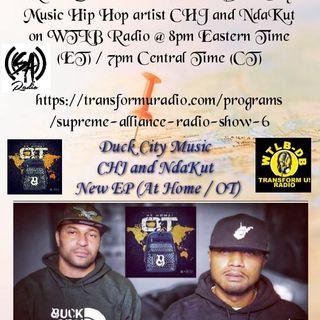 Duck City Music Hip Hop artist CHJ and NdaKut