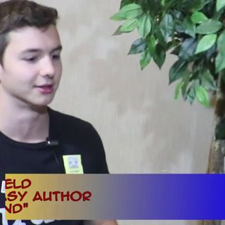 Dark Fantasy with Young Author Noah Barfield: an interview on the Hangin With Web Show