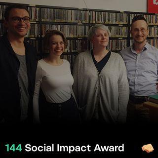 SNACK 144 Social Impact Award
