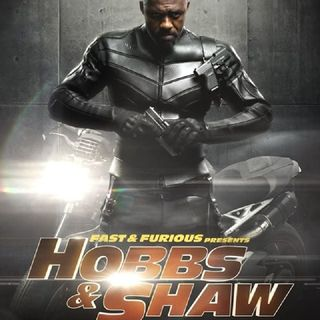 Idris Elba's Movie Hobbs and Shaw