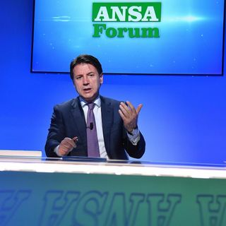 """Conte all'ANSA: """"Ottimista su manovra,debito giù con entrate non stimate"""""""