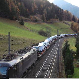 Meno TIR più treni