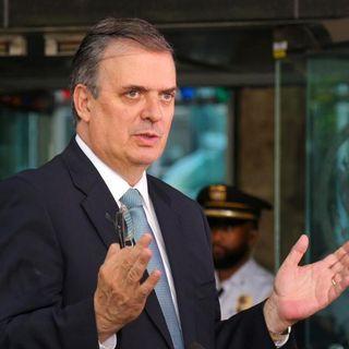 Confirma Ebrard envío de elementos de la GN a frontera sur