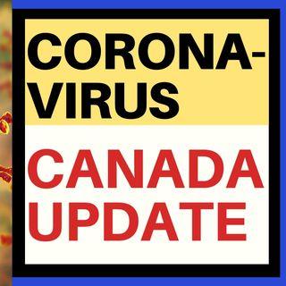 CORONAVIRUS UPDATE - CANADA