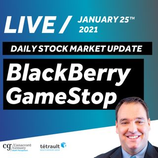 Daily Stock Market Update - GameStop and BlackBerry