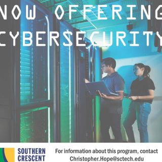 Promotional | Southern Crescent Technical College Cybersecurity Program