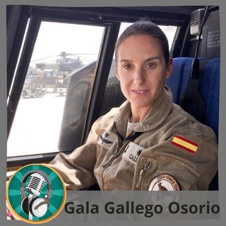 Karel con Gala Gallego