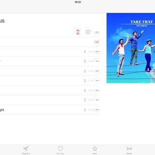 Album Highlights: The Circus- Take That