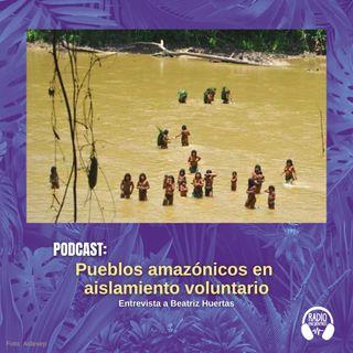 Pueblos amazónicos en aislamiento voluntario