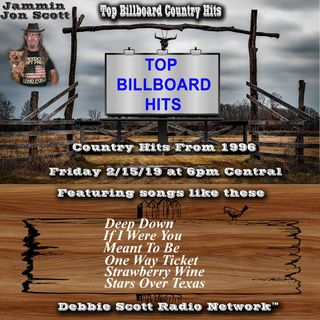 Billboard Country Music Hits from 1996 2-15-19