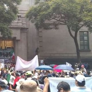 Manifestantes demanda al PJF escuche al pueblo