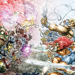 Source Material #163: He-Man And Thundercats Crossover (DC, 2016)
