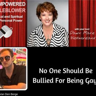 No One Should be Bullied Because They Are Gay