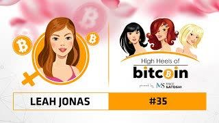 High Heels of Bitcoin #35 | Leah Jonas (Celsius Network)
