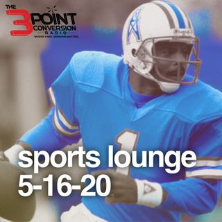 The 3 Point Conversion Sports Lounge- Will Minority HC's and GMs Ever Get Fair Shot, HOF QB Warren Moon & Bears LB James Vaughters