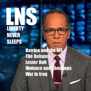 Liberty Never Sleeps Presidential Debate Review
