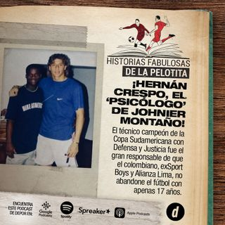 ¡Hernán Crespo, el 'psicólogo' de Johnnier Montaño!