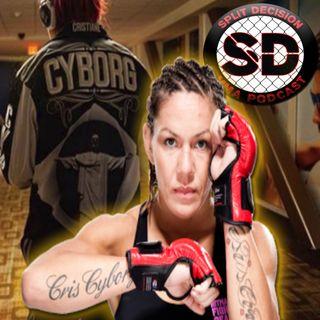 Cris Cyborg Interview 1/15/18