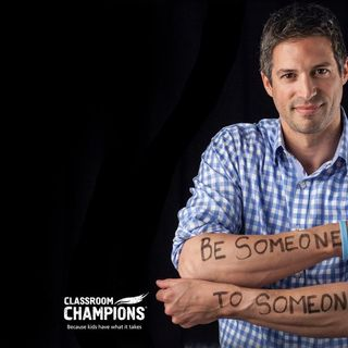 Olympian Steve Mesler and Classroom Champions