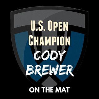 U.S. Open Champion Cody Brewer & Ocean Springs H.S. (Miss.) coach Jay Snow - OTM569