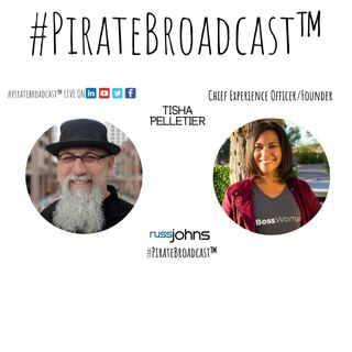Catch Tisha Pelletier on the #PirateBroadcast™