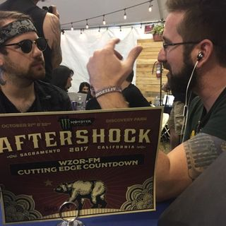 Rockcast at Aftershock - Beartooth's Caleb Shomo