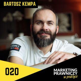 MPP#020 Wąska specjalizacja, płatności z góry i kancelaria bez biura - Bartosz Kempa