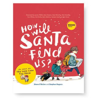 """Co-author of """"How will Santa Find us?"""" Shane O'Brien chats """"On the Fringe."""""""