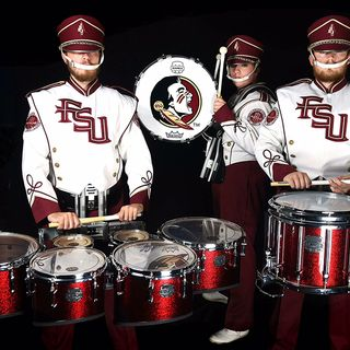 "Phil Talks Sports ft: ""King"" Richard - FSU Marching Chiefs & BIG8 Drumline"