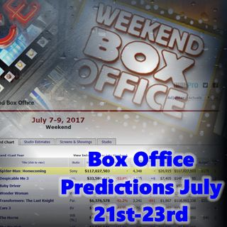Daily 5 Podcast - Box Office Predictions 7-21-17