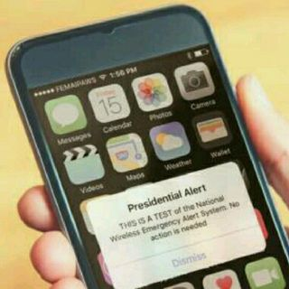 Presidential Text Message: Is It The Alert For The End?