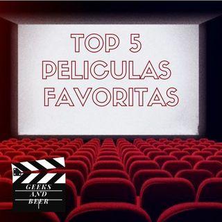 # geeks and beers -  Top de películas de Ninjacow
