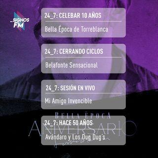 SignosFM 24_7: De Torreblanca, Avándaro, Cerati y más