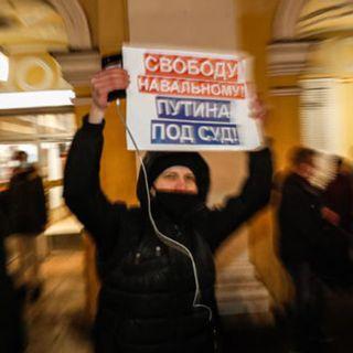 Il giorno della protesta per Navalny