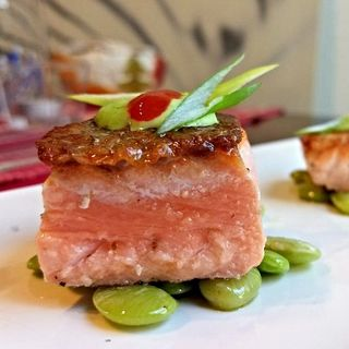 Chef Ivan Flowers: Sweet and Spicy Salmon